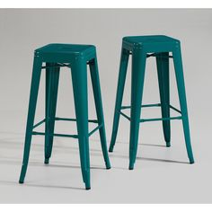Tabouret 30-inch Peacock Bar Stools (Set of 2) - Overstock™ Shopping - Great Deals on Bar Stools (need 24 inch!)
