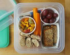 Bento Box-style lunch idea