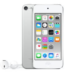 iPod touch 64GB (or bigger). Not super fussed about the color. Although silver is nice. Find one refurbished? Totally in.