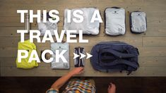 Ready for an Adventure? Choose an Eagle Creek Travel pack for your next trip and have all the versatility of a backpack with the capacity and features of a suitcase. Now that's perfection! Packing Tips For Vacation, Camping Packing, Backpacking Tips, Travel Packing, Travel Backpack, Vacation Trips, Travel Bags, Travel Trip, Packing Tricks