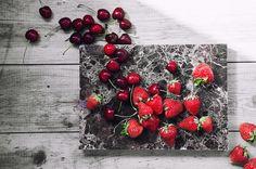 cherry, strawberry