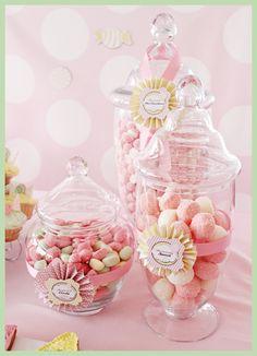 Temalı 1. Yaş Doğumgünü Partisi: Azra's Candy Shop Şekerler