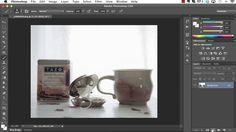 Add a soft blanket of light over your photo - The Café - Soft Light Gradient Tutorial by Kim Klassen
