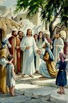 Jesus With a Crowd