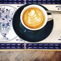 Cortado at Workshop Coffee, Fitzrovia London