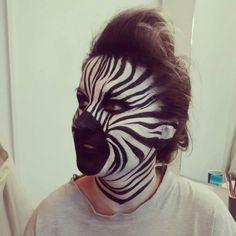 Zebra make up!