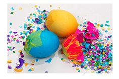 Confetti Eggs for New Years AND Easter.