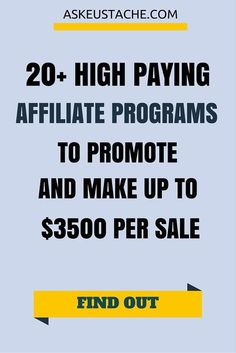 Earn Money Online From Home - 20 Legit And High Paying Affiliate Programs To Earn Money You may have signed up to take paid surveys in the past and didn't make any money because you didn't know the correct way to get started! Make Money Blogging, Way To Make Money, How To Make, Money Tips, Earning Money, Marketing Program, Affiliate Marketing, Earn Money Online, Online Jobs