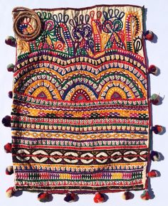 www.thesilkroadshop.bigcartel.com Magnificent vintage dowry bag hand made by the women of the Rabari Tribe of India. Traditionally, dowry bags are used especially for carrying wedding gifts bestowed upon the groom's family as an affectionate token from the bride's family.