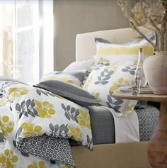 Ordinary Inspirations for the everyday Wife, Mommy, & Homemaker: Gray & Yellow Bedroom Inspiration