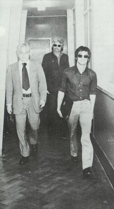 James Coburn and Bruce Lee.
