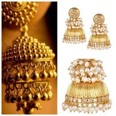 For the love of Gold. Indian Wedding Jewelry, Indian Jewelry, Bridal Jewelry, Gold Jewelry, Jewelry Box, Jewelry Accessories, Tribal Fashion, Women's Fashion, Traditional Indian Jewellery