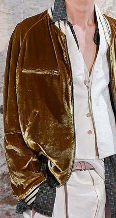 Haider Ackermann - SS 2015 Vintage Mannequin, Well Dressed Men, Stylish Men, Dapper Gentleman, Outerwear Jackets, Lounge Wear, Haider Ackermann, Women Wear, Street Style