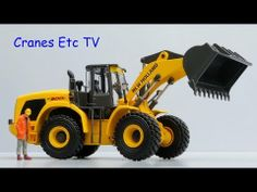 Check out Cranes Etc Review of MotorArts #13782 New Holland W300C Wheel Loader. Available at 3000toys.com