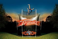 Visit the microsite and DISCOVER THE MAGIC OF THUNDER! http://www.vulytrampolines.com/thunder