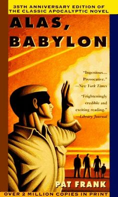 Alas, Babylon (1993 edition), cover by Adam Niklewicz