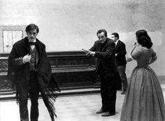 royaltyandpomp:  THE MOVIE  Alain Delon Luchino Visconti and...