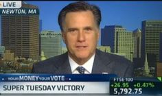 """On the heels of Super Tuesday, Mitt Romney appeared on Squawk Box this morning, telling CNBC he was pleased with his campaign's success. Romney also addressed his positions on tax policy, energy, & the economy. On Obama, he said that he is in over his head and his time has come for """"early retirement."""" Watch the full interview here: http://cnb.cx/wXYEza"""