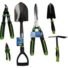 Black and Decker Home 6-Piece Garden Tool Kit, Green