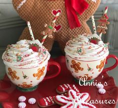So Deliciously Fake and Fun! Perfect Decor for your kitchen Gingerbread Christmas Decor, Gingerbread Crafts, Gingerbread Decorations, Christmas Star, Gingerbread Man, Christmas Treats, Christmas Holidays, Xmas, Christmas Wishes