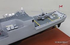 SD Model Makers > Frigate Models > Halifax Class Frigate Models Royal Canadian Navy, Ship Names, Shipping Crates, Model Maker, Work Horses, Paint Schemes, Display Case, Sd, Ontario