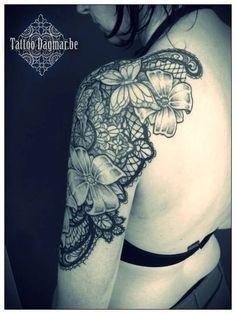 30 Refined Lace Tatt