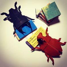 origami: the reading bugs! (≧∇≦)
