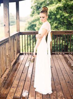 Chloe Dao S Sleek Sheer Aurora Gown Is Breathtaking In Its Airy Simplicity