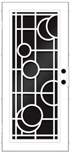 New metal door grill design Ideas Window Grill Design Modern, Grill Door Design, Door Gate Design, Room Door Design, Grill Gate, Door Grill, Metal Screen Doors, Iron Doors, Iron Window Grill