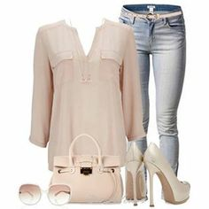 Let's go to the mall Spring Summer Fashion, Spring Outfits, Autumn Winter Fashion, Spring Style, Denim Fashion, Look Fashion, Womens Fashion, Fashion Ideas, Stylish Outfits