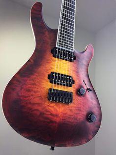 Mayones Guitars Prs Guitar, Jazz Guitar, Music Guitar, Cool Guitar, Ukulele, Rare Guitars, Fender Guitars, Vintage Guitars, Custom Electric Guitars