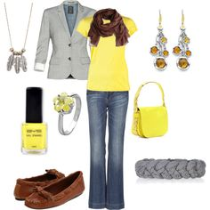 """""""Yellow Fever"""" by firefly7522 on Polyvore"""