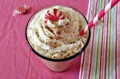 Skinny Peppermint Mocha Frappe | All recipes with Trader Joes products for easy, quick, healthy meal ideas