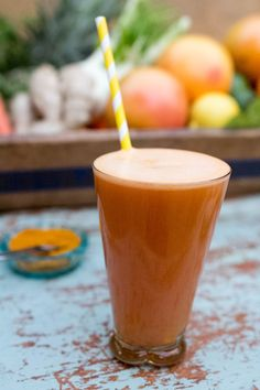 Super Healthy Sunshine Drink: This healthy juice is packed full of delicious ingredients that will make you feel great