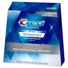 Looking for Crest No Slip Whitestrips Professional Effects Teeth Whitening Kit 20 ea ? Check out our picks for the Crest No Slip Whitestrips Professional Effects Teeth Whitening Kit 20 ea from the popular stores - all in one. Teeth Whitening Remedies, Teeth Whitening System, Natural Teeth Whitening, Whitening Kit, Crest 3d White, Slip, Dental Teeth, Dental Hygienist, Dental Implants