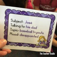 Thinking outside the box for teaching dialogue--who needs worksheets?  Check out this blog post to learn how!