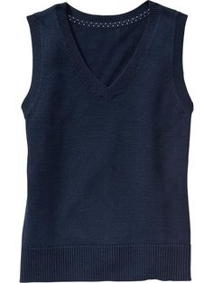 Girls Uniform Sweater Vests Product Image