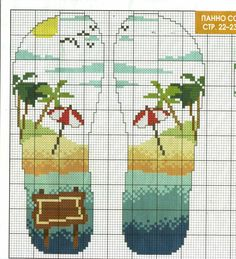 Ниточка - иголочка: Вышивка крестом Cross Stitch Sea, Cross Stitch Bookmarks, Cross Stitch Needles, Cross Stitch Flowers, Cross Stitching, Cross Stitch Embroidery, Wedding Cross Stitch Patterns, Ladder Stitch, Plastic Canvas Patterns