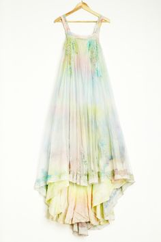 "Wouldn't wear this as a wedding dress, more-so if I were just out and about. But damn it's pretty! ""Fairy wedding dress."""