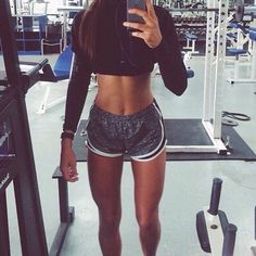 I need her Abs! Thighs are too small for me.