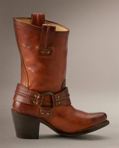 Carmen Harness Short - View All Womens Boots - Western Boots, Riding Boots & More - The Frye Company