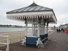 A Victorian shelter at Weymouth Shelters, Seaside, Gazebo, Victorian, Outdoor Structures, Deck Gazebo, Cabana, Hiding Places, Arbors