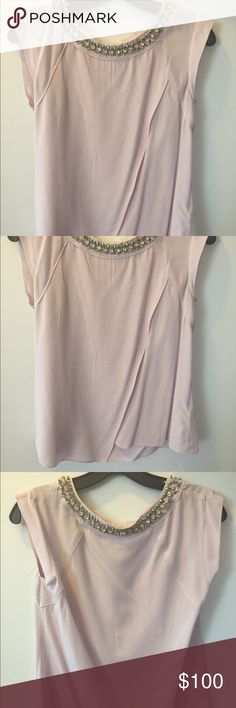 Rebecca Taylor embellished top Beautiful Rebecca Taylor top with embellishment. Size small, new with tags. Rebecca Taylor Tops Blouses