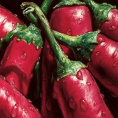 Hot Peppers Prints by Alma'ch at AllPosters.com