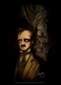 Edgar Allan Poe  by David G. Forés