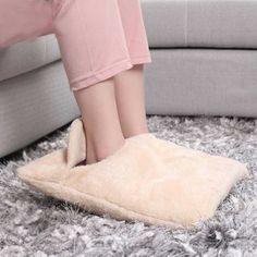 da4a0c1d0036 Electric foot warmers Foot hand Warmer heating pad Sofa Chair heater warm  cushion electric shoes winter
