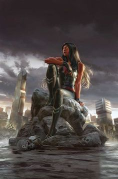 Red She-Hulk by Jana Schirmer *