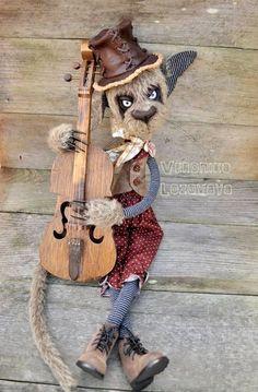 Невероятно харизматичные коты от Veronika Lozovaya - Ярмарка Мастеров - ручная работа, handmade