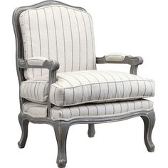Found it at Joss & Main - Sara Arm Chair in Gray & Ivory