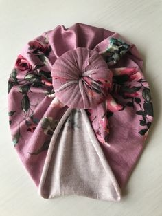 Mauve Floral Knotty